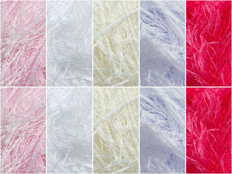 Frosting Colour Pack in Sirdar Funky Fur