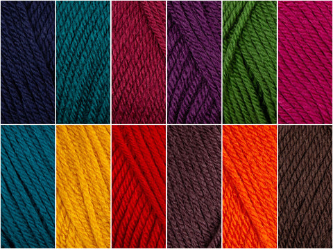 Deramores Studio DK Gemstone Colour Pack