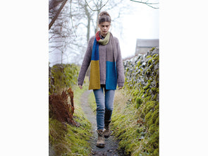 Glaramara Scarf by Lisa Richardson in Rowan Moordale