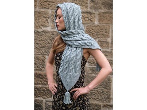 Harriet Hooded Scarf by Jo Allport in Rico Design Alpaca Blend Chunky