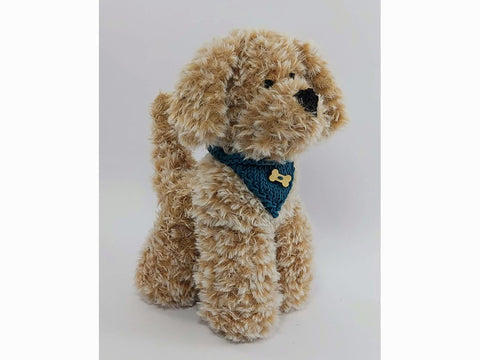 Harry The Puppy by Sardines For Tea in Sirdar Alpine and Rico Design Creative Ricorumi DK
