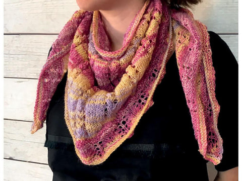 Shawl in Stylecraft Head Over Heels AllStars