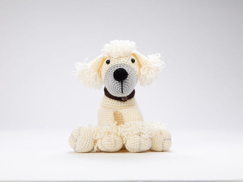 Crocheted Dera-Dogs - Poodle & Spaniel by Heather C. Gibbs in Deramores Studio DK