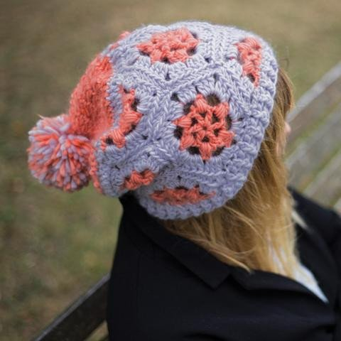 Vickie Howell Mod Wool Hexi Hat Kit