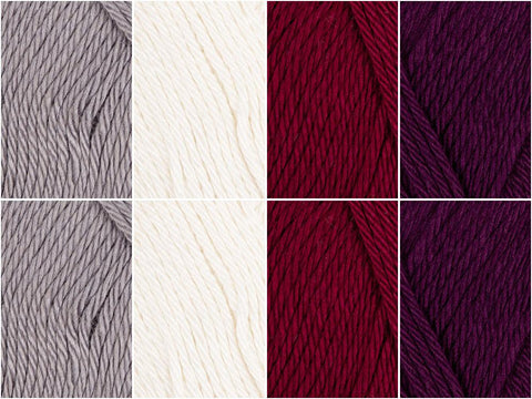 High Society Colour Pack in Scheepjes Bamboo Soft