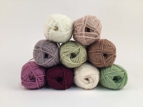 Sirdar Snuggly DK Heather Colour Pack