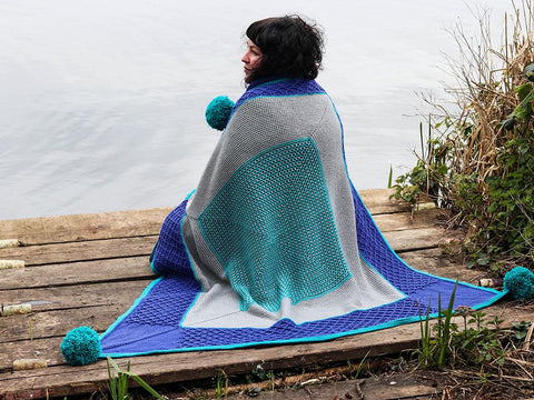 Batchworth Blanket Crochet Kit and Pattern in West Yorkshire Spinners Yarn