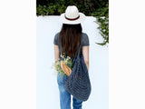 French Market Tote Bag by Two of Wands in Lion Brand 24-7 Cotton