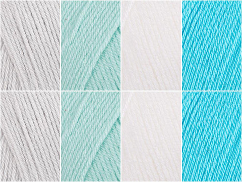 Island Shallows Colour Pack in Deramores Studio Baby Soft DK