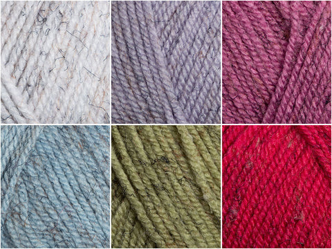 James C. Brett Misty DK Colour Pack