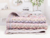 Bed Runner, Blanket and Cushion by Jenny Watson in James C. Brett Marble Chunky (5059)