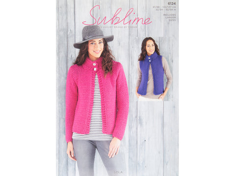 Jacket and Waistcoat in Sublime Lola (6124)