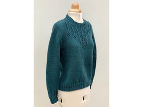 Jadeite Sweater by Emma Vining in West Yorkshire Spinners Bluefaced Leicester DK