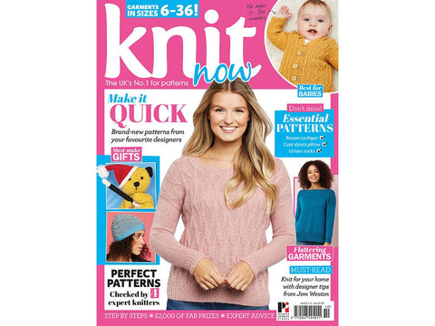 Knit Now Magazine - Issue 110