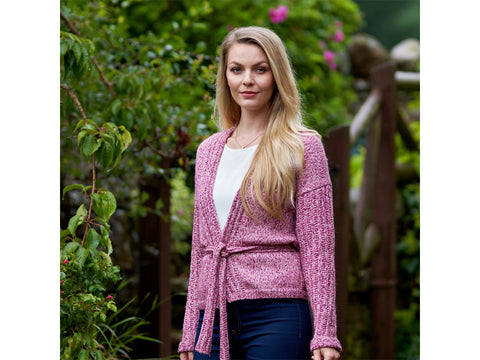 Kenzy Cardigan Knitting Kit and Pattern in West Yorkshire Spinners Yarn