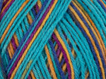 King Cole Zig Zag 4 Ply Wool Yarn
