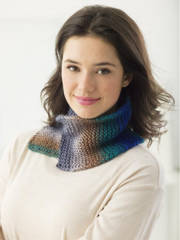 Oradell Cowl in Lion Brand Landscapes (L70026)