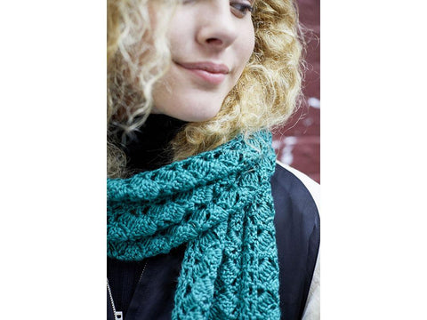 Asheville Scarf in Lion Brand Touch of Merino