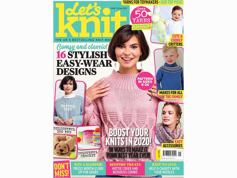 Let's Knit Magazine - Issue 153