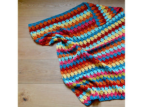 Larksfoot Blanket Crochet Kit and Pattern in Stylecraft Yarn