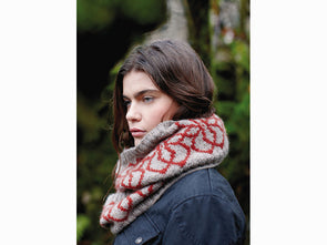 Lingmoor Cowl by Lisa Richardson in Rowan Moordale