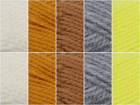 Little Duckling Colour Pack in Cygnet Yarns Little Ones A-Z DK