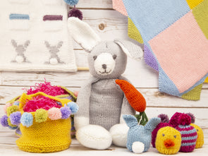 The Official Deramores 2020 Easter Knit-Along by Jenny Watson in Deramores Studio DK Yarn