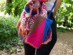 Aztec Tile Backpack  Knitting Kit and Pattern in Deramores Yarn