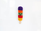 Ice Lollies Fridge Magnets Crochet Kit in Deramores Yarn