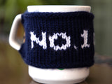 No.1 Dad Mug Cozy Knitting Kit and Pattern in Deramores Yarn