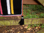 Liquorice Allsorts Blanket Crochet Kit and Pattern in Deramores Yarn