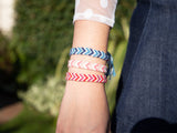 Friendship Bracelet Kit and Pattern in Deramores Yarn