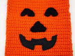 Pumpkin Trick and Treat Bag Crochet Kit and Pattern in Deramores Yarn
