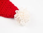 Santa Hat Crochet Kit and Pattern in Deramores Yarn