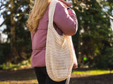 Market Bag Crochet Kit and Pattern in Deramores Yarn