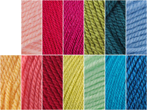 Stylecraft Special DK Maybellene Colour Pack by Polly Plum