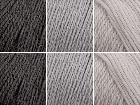 Yarn Stories Fine Merino DK Monochrome Colour Pack