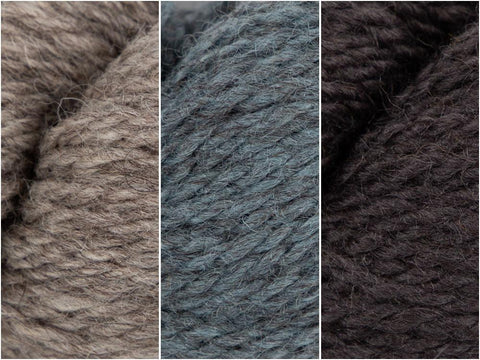 Moonbeam Colour Pack in Baa Ram Ewe Winterburn Aran