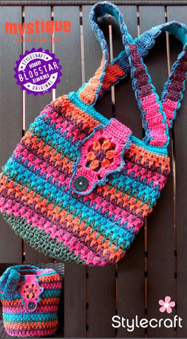 Mystique Crocheted Tote Bag by Zelma Olivier