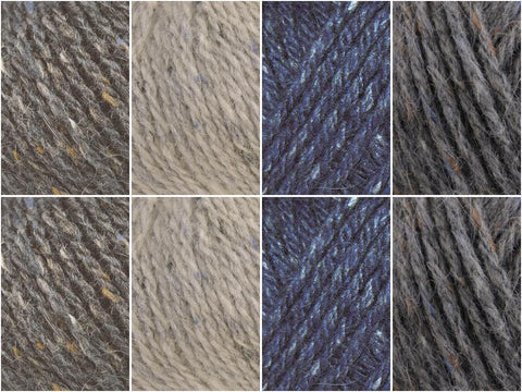 Nightsky Colour Pack in Rowan Felted Tweed Aran