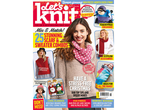 Let's Knit Magazine - Issue 151