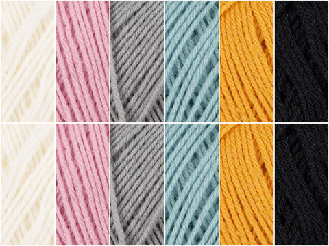 All Tones Colour Pack in Novita Baby Merino