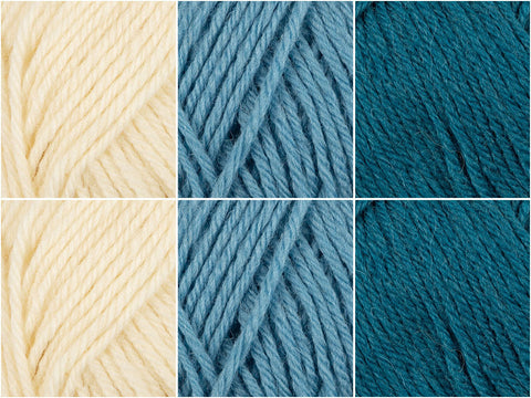 Aqua Power Colour Pack in Novita Nordic Wool