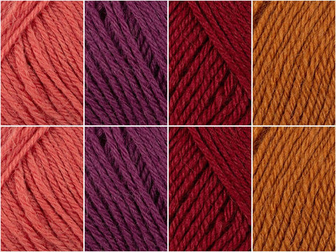 Berry Delight Colour Pack in Novita Nordic Wool