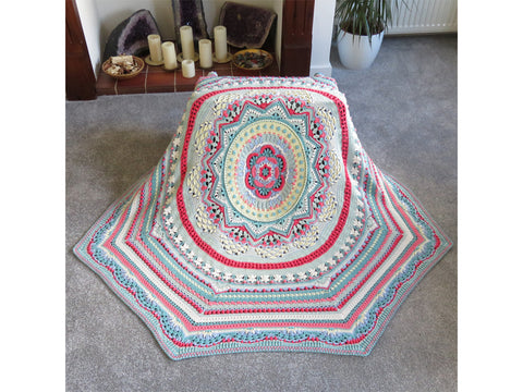 Octagonical Blanket CAL by Crystals & Crochet in Stylecraft Yarn