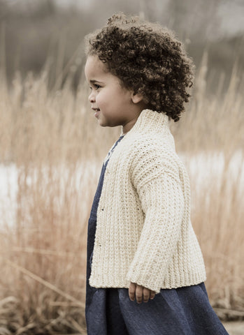 Cookies & Cream Cardi in Spud & Chloe Sweater