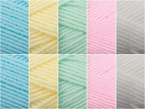 Pastel Passion Colour Pack in Jenny Watson Babysoft DK