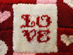 Patchwork Heart Blanket Knit-Along in Deramores Yarn