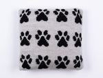 Mini Paw Print Cushion Knitting Kit and Pattern