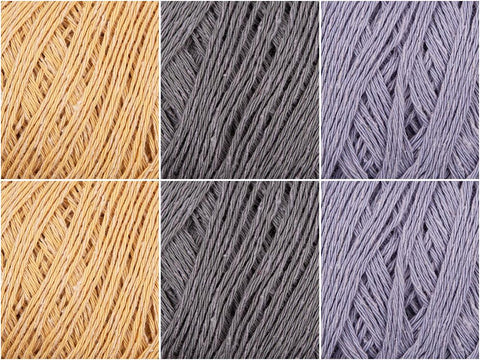 Pebble Sand Colour Pack in Rowan Silky Lace